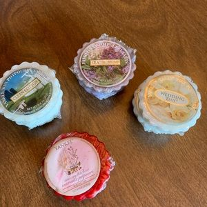 Assorted Yankee candle tarts